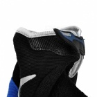 Yanho YAS366 Cycling Full-Finger Fleece Gloves - Black + Blue (XL)