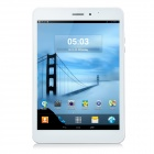 "Sanei G786 7.85"" TFT MTK8382 Quad-Core Android 4.4 Tablet PC w/ 8GB ROM, Dual-Cam - White + Silver"