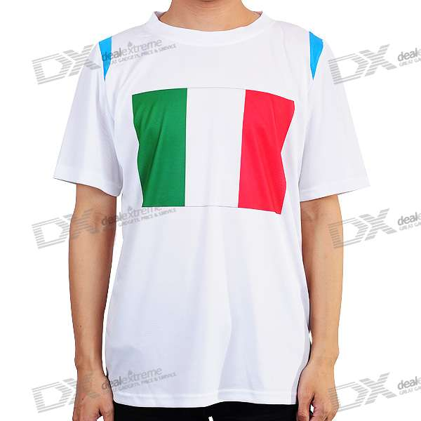 National Football/Soccer Team T-Shirt - Italy (XXL-Size)