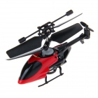 QS5010 2.4GHz 3.5-Channel Super Mini Infrared R/C Helicopter with Gyro - Red + Black