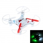 LS-112MINI 2.4GHz 4-Channel 6-Axis New Style Mini Helicopter w/ Gyro / LED Light - White
