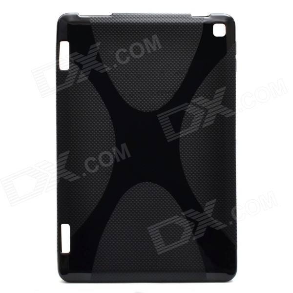 """X"" Pattern Non-Slip TPU Back Case for Amazon Kindle Fire HD 7 - Black"