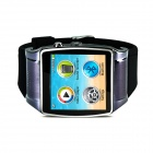 GSM Watch Phone w/ 128MB RAM, 64MB ROM - Gun Color