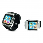 "GSM Bluetooth Watch Phone w/ 1.54"" Touch Screen, 2.0MP Camera, TF, Pedometer - Silver"