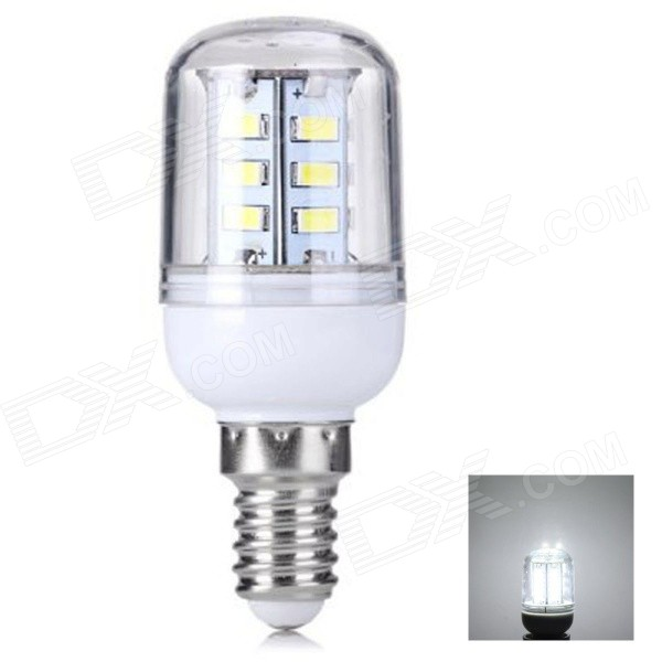E14 4W 420lm 24 SMD 5730 LED legal White Light milho lâmpada (AC 220 ~ 240V)