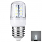 E27 5W 400lm 24-SMD 5730 LED White Light Corn Lamp(AC 220~240V)