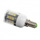 E14 4W 290lm 4600K 31-SMD 5050 LED Warm White + White Light Lamp Bulb - White (AC220V)