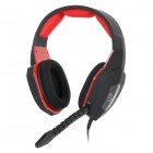 HUHD HG-939MV Wired Gaming Headband Headphones w/ Rotary Mic for Xbox 360 / PS4 / PS3 / PC - Black