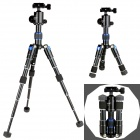 EOSCN Foldable Desktop Macro Mini Tripod w/ Holder for Camera / DV - Black + Blue