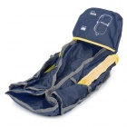 NatureHike Outdoor Sports Polyester + Nylon Foldable Backpack - Dark Blue (15L)