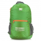 NatureHike Outdoor Sports Polyester + Nylon Foldable Backpack - Grass Green (15L)