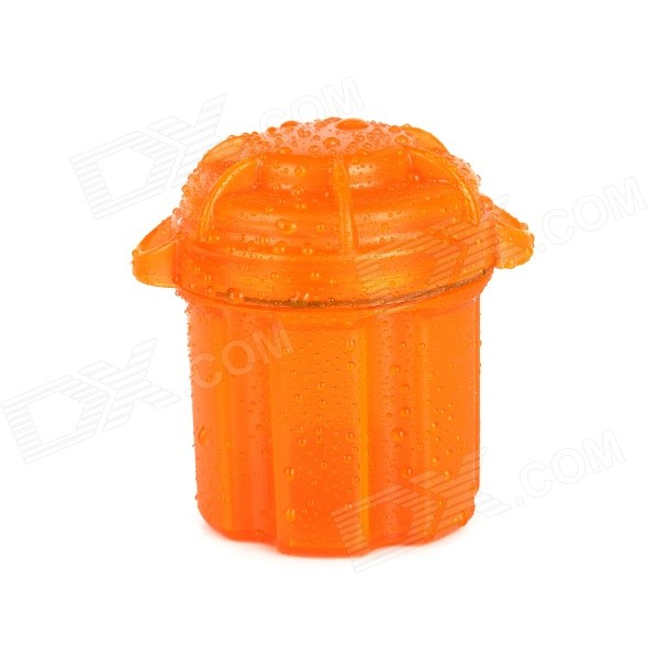 Water-Resistant Drop Protection Storage Container Box- Orange