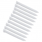 Professional Plastic Styluses for NEW 3DSLL - White (10 PCS)