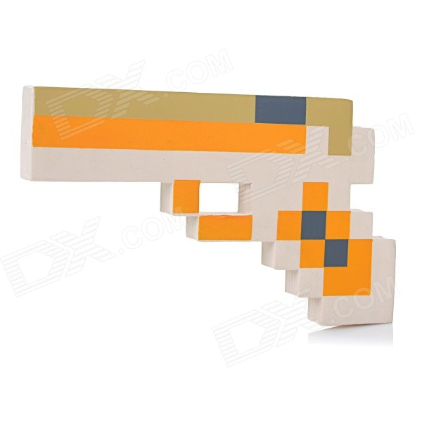 EVA Sponge Gun Toy for Children / Kids - Yellow