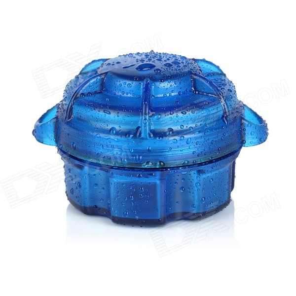 Water-Resistant Drop Protection Storage Box Case Container - Blue