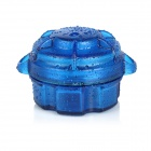 Water-Resistant Drop Protection Storage Box Case Container for Chips / Batteries / Gadgets - Blue