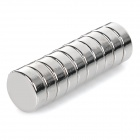 NdFeB N35 Round Magnets - Silver (15*5mm / 10PCS)