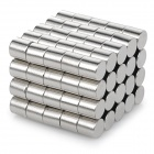 Buy NdFeB N35 Round Magnets - Silver (6*6 mm / 100PCS)