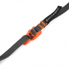 EDCGEAR Multi-Function Steel Tying Band Stainless - Deep Grey + Orange