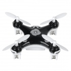 Cheerson CX-10A Mini 2.4GHz 4-CH 6-axis Aircraft w/ Gyro + Headless Flying Mode - Black + White