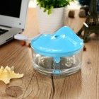 Iceberg Style USB Powered Air Humidifier / Purifier - Blue + Transparent (150mL)