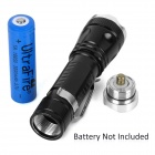 Multifunctional Mini 600lm Neutral White 5-mode Zooming Flashlight