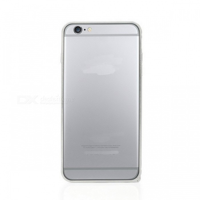 Plum Buckle Aluminum Alloy Bumper Frame Case for IPHONE 6 - Silver