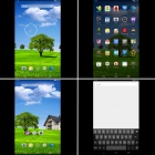"10.1"" TFT quad core Android 4.4 1GB RAM, 16 GB ROM - wit + zwart"