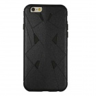 "3-in-1 Protective TPU + PC Back Case Cover for IPHONE 6 Plus 5.5"" - Black"