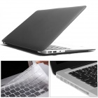 "Mr.northjoe 3-in-1 Matte PC Case + Keyboard Cover + Anti-dust Plugs for MACBOOK AIR 13.3"" - Grey"