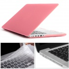 "Mr.northjoe 3-in-1 PC Matte Case + Keyboard Cover + Dust Plugs for RETINA MACBOOK PRO 13.3"" - Pink"