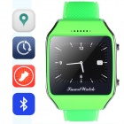"Aoluguya 103V GSM Smart Watch Phone w/ 1.65"", GPS, BT, Pedometer, Anti-lost, Remote Shutter - Green"