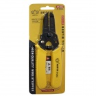 "BESTIR BST-01204 Multifunctional 6"" Wire Stripper Pliers - Yellow"