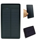 SP0014 Universal Dual USB Output 5V 95000mAh Li-ion Polymer Solar Power Bank Charger - Black