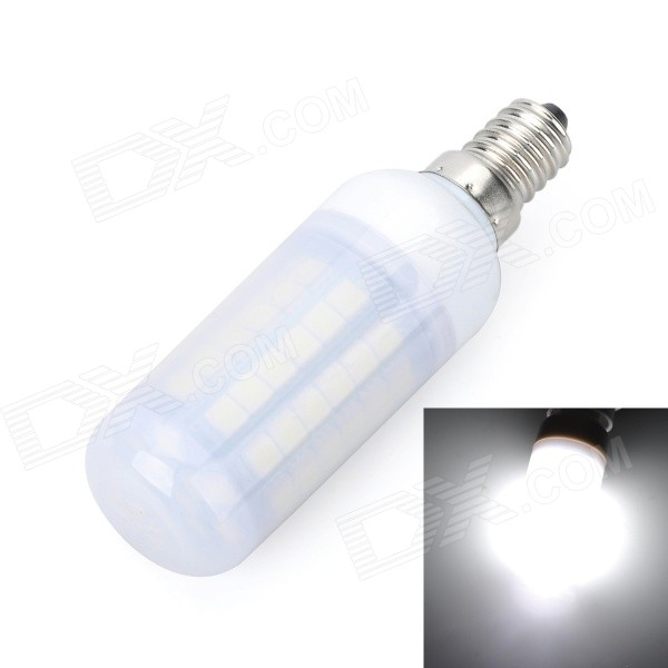 Marsing D59 E14 12W 1100lm 69-SMD 5050 Cool White Corn Lamp w/
