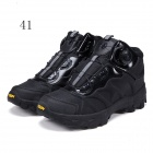 ESDY KF41-001 Men's Outdoor Hiking Climbing Anti-Slip Tactical Boots Shoes - Black (41 / Pair)