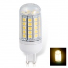 G9 6W 530lm 3000K 59-SMD 5050 LED Hot White Corn Lampe-Blanc (AC 220 ~ 240V)