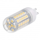 G9 6W 530lm 3000K 59-SMD 5050 LED Warm White Corn Lamp (AC 220~240V)