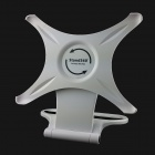 PVC 360 Degree Rotatable Holder for IPAD 2 / 3 / 4 - White + Black