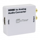 O ZEIT OT-2HB HDMI Digital-Analog-Audio Converter - Weiß