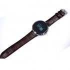 "GUMBO 0.95"" OLED Bluetooth V3.0 Smart Wrist Watch - Brown"