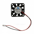 Geeetech 3D Printer Extrusora 12V 3-Pin Refrigerador Axial Fan - preto (40 x 40 x 10mm)