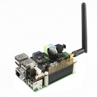 Raspberry Pi Model B+ / X300 Full Function Expansion Board with Antenna - Black + Green