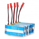 KV636-001 750mAh Batteries+Charging Cable+USB Set for V636/V626-Blue