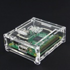 2-in-1 Raspberry Pi Model A+ (Made in UK) + Acrylic Case Kit - Green