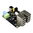 X505 Full Function Expansion Board for Raspberry Pi A+ and Raspberry Pi Compute Module - Black