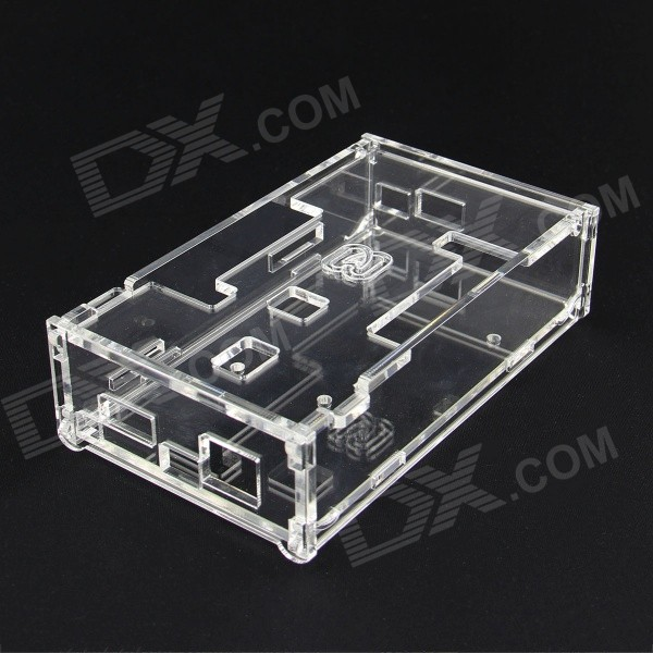 Acrylic Case / Shell for pcDuino3 / pcDuino v3 - TransparentOther Accessories<br>Form  ColorTransparentModelpcDuino3Quantity1 pieceMaterialAcrylicEnglish Manual / SpecNoDownload Link   N/APacking List1 x Acrylic Case<br>