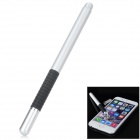 Aluminum Alloy Stylus Pen w/ Suction Cup for IPHONE / IPAD / Samsung - Silvery White + Black