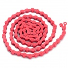 Replacement 96-Link Chain for Fixed Gear - Red
