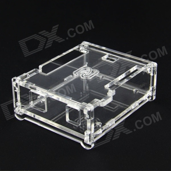 TONGBAN Acrylic Case for Arduino UNO R3 - TransparentOther Accessories<br>Form  ColorTransparentModelUNO R3Quantity1 pieceMaterialAcrylicEnglish Manual / SpecNoDownload Link   N/APacking List1 x Acrylic Case<br>